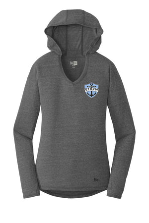 ST STORM - WOMEN'S  NEW ERA PULLOVER HOODED TSHIRT