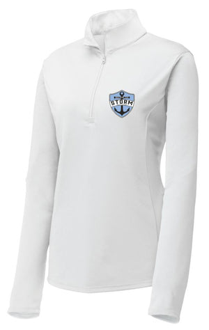 ST STORM - WOMEN'S PERFORMANCE QUARTER ZIP PULLOVER