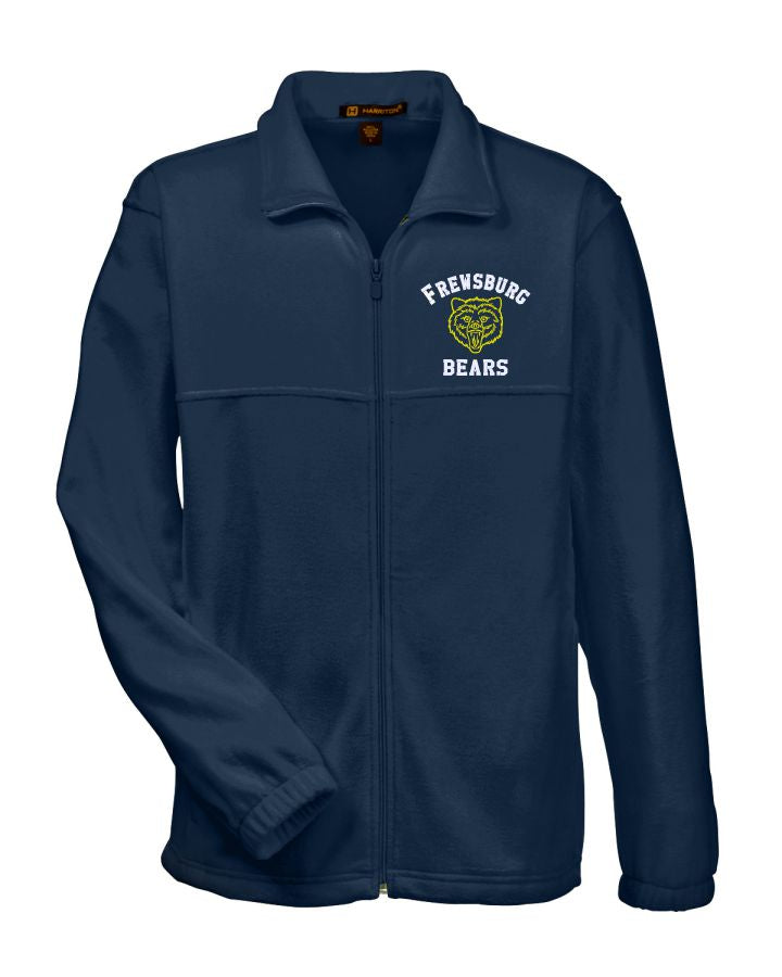 FREWSBURG CHEER  MEN'S FLEECE JACKET - EMBROIDERED