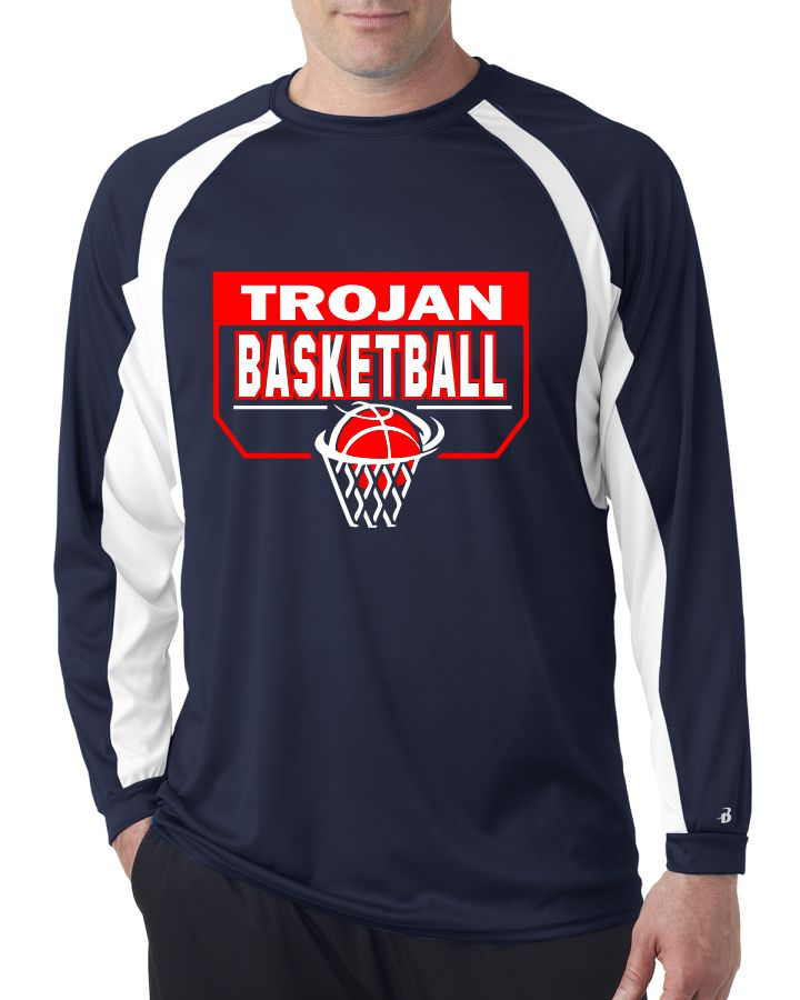 SW Basketball Long Sleeve Performance T-Shirt