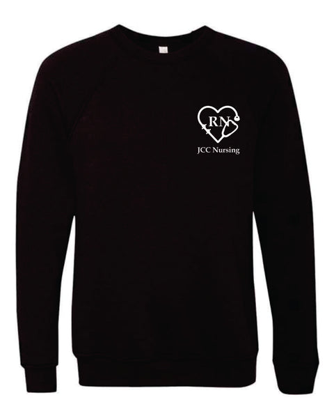 JCC NURSING - STETHOSCOPE CREW NECK SWEATSHIRT