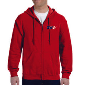 SWS - FULL ZIP HOODED SWEATSHIRT
