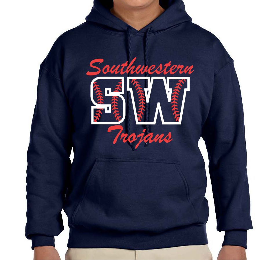 SW SOFTBALL - HOODED SWEATSHIRT