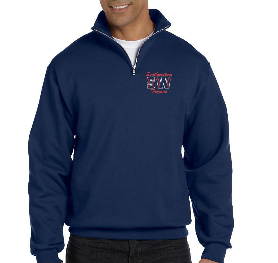 SW SOFTBALL - QUARTER ZIP SWEATSHIRT