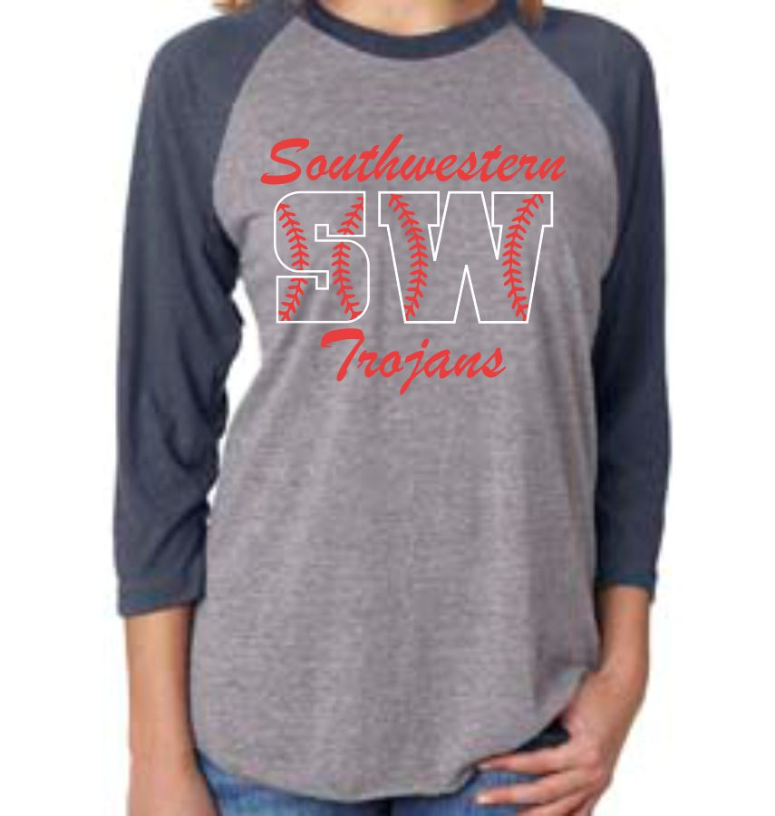 SW SOFTBALL - LONG SLEEVE BASEBALL TSHIRT