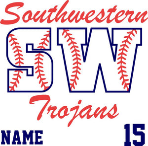 SW SOFTBALL - YARD SIGN