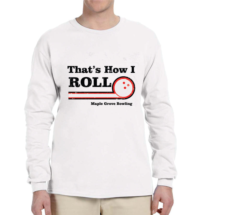 MG BOWLING  LONG SLEEVE TSHIRT