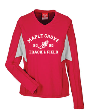 MG TRACK - WOMEN'S PERFORMANCE LONG SLEEVE T SHIRT