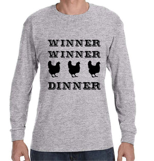 4H - CHICKEN DINNER- LONG SLEEVE TSHIRT - ADULT AND YOUTH