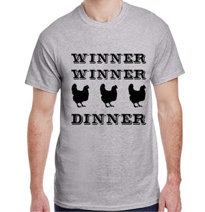 4H - CHICKEN DINNER - SHORT SLEEVE TSHIRT - ADULT AND YOUTH
