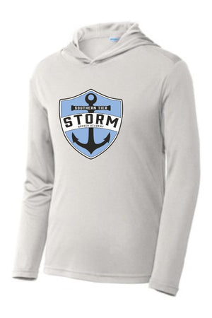 ST STORM - YOUTH  PULLOVER HOODED TSHIRT