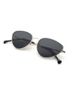 Oval Shaped Flat Lens Sunglasses-KRZ - SR Store