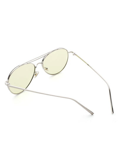 Contrast Top Bar  Sunglasses-KRZ - SR Store