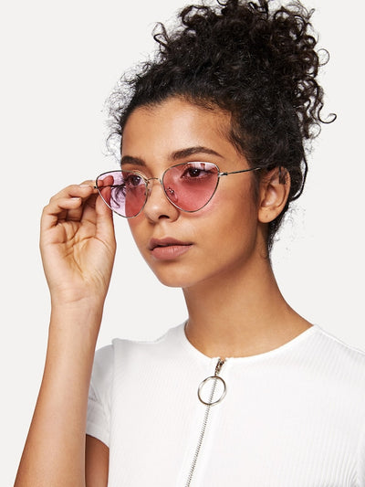 Oval Shaped Sunglasses