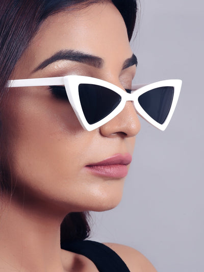 Pointed Cat Eye Sunglasses