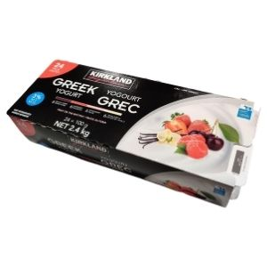 Costco Kirkland 3% Greek Yogurt (24x100g) 2.4kg