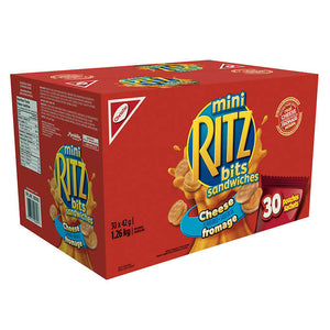 Christie Ritz Bitz With Cheese (30 Pack)