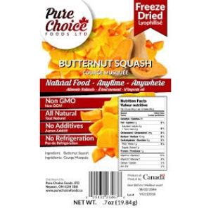 Freeze Dried Butternut Squash 20g
