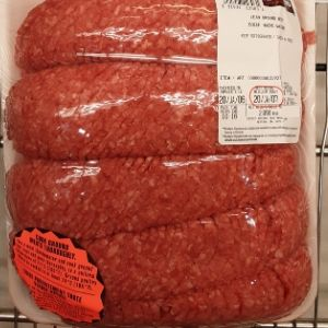Costco Lean Ground Beef 2.7kg