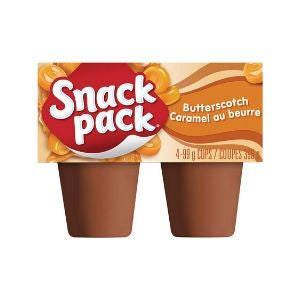 Snack Pack Pudding Butterscotch 4 Pack (396g.)