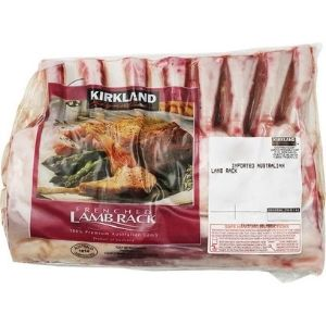 Costco Australian Rack of Lamb 600g