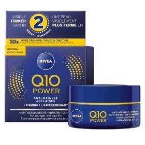 Nivea Q10 Power Anti-wrinkle + Firming Night Face Moisturizer 50 ml