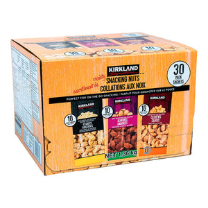 Kirkland Variety Snacking Nuts (30 Pack)