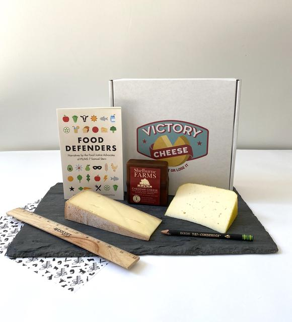 Victory Cheese Box #6 - The 826NYC Box
