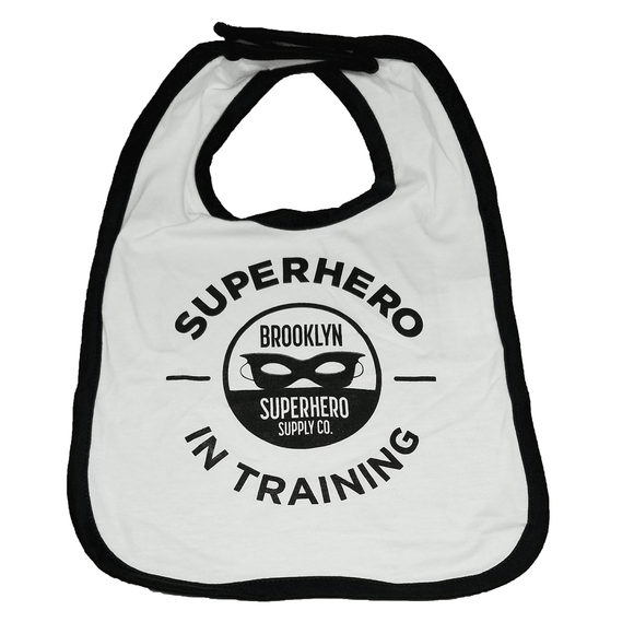 Superhero in Training Bib