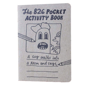 826 Pocket Activity Book - Kids' Notebook
