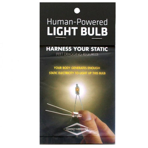 Compact Curiosities: Human-Powered Light Bulb