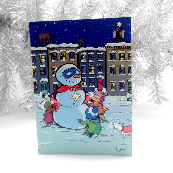 826NYC Holiday Card by George O'Connor