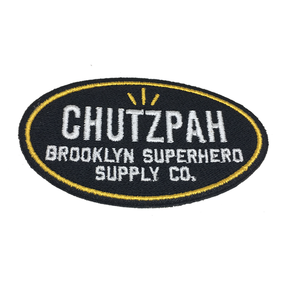 Patch: Chutzpah