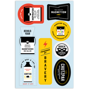 Sticker Sheet - BSSCo. Superpowers