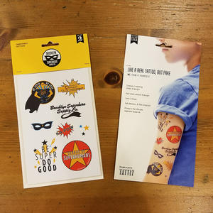 BSSCo. X Tattly Temporary Tattoo Set
