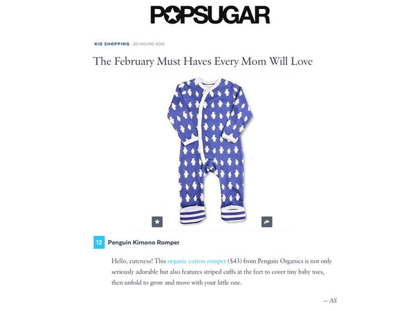 "POPSUGAR Moms featuring Penguin Organics (slide 13) within their ""The February Must Haves Every Mom Will Love"""