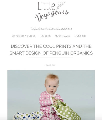 DISCOVER THE COOL PRINTS AND THE SMART DESIGN OF PENGUIN ORGANICS