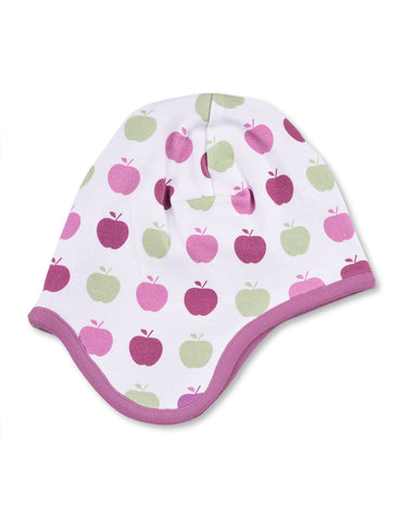Apple Bonnet Multi Pink Organic Cotton | Penguin Organics