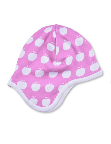 Apple Bonnet Pink Organic Cotton | Penguin Organics