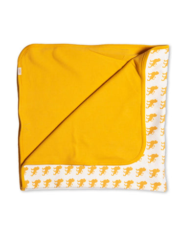 Lion Organic Cotton Blanket