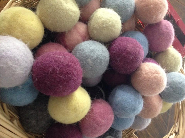 All About Wool Dryer Balls