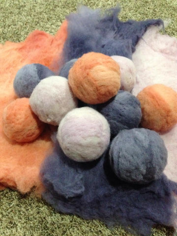 Wool Dryer Balls at www.theecotopia.com