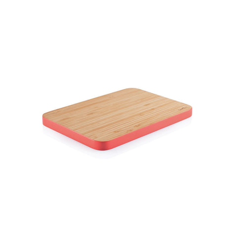 Bambu Small Bamboo Cutting Board - Strawberry