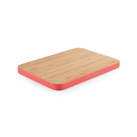 Bambu Medium Bamboo Cutting Board - Strawberry
