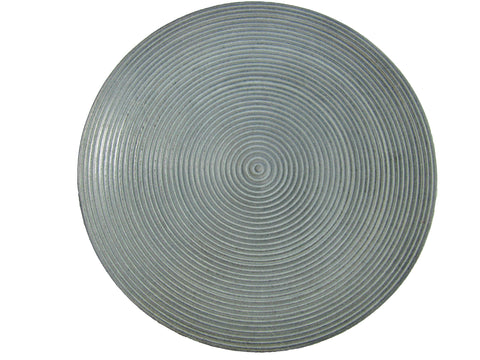 Spiral Soapstone Candle Plate