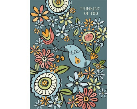 Recycled Paper Stationery Set Simply Mini - Thinking of You