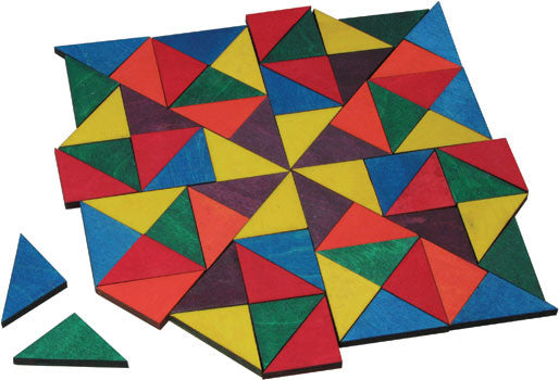 Maple Landmark Mosaic Triangles