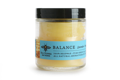 Big Dipper Apothecary Glass Candle - Balance