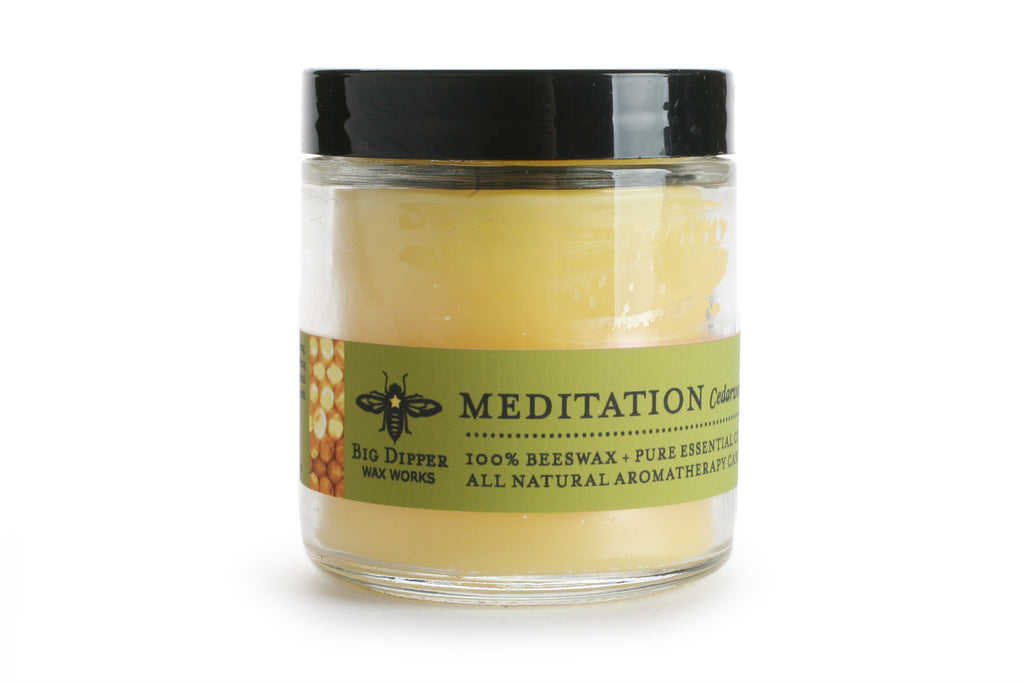 Big Dipper Apothecary Glass Candle - Meditation
