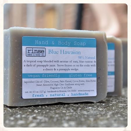 Rinse Blue Hawaiian Soap